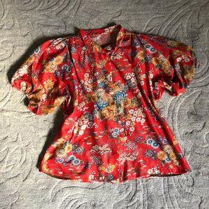 Vintage Bloomin Sparkle top